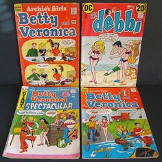 Comic Books-Betty and Veronica  https://www.facebook.com/ArchiesGirls