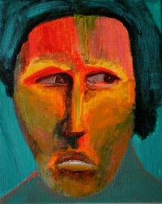 Glance   George Pearlman, Monster Series #monster #painting