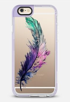 Henna Feather iPhone 6 case by in Lavender Violet by Carla James | @casetify