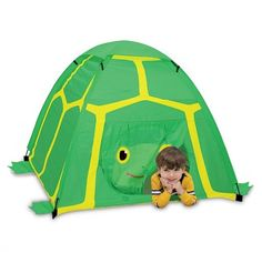 TURTLE TENT!!! It's a turtle tent!!! How cool!!!