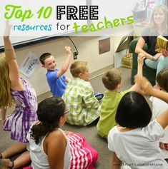 Top 10 FREE resources for teachers - great list of free sites for teacher planning!