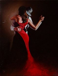 Just a cruel mirage Tango Art, Mode Poster, Tango Dancers, Dance Paintings, Romance Art, Lets Dance, Dance Pictures, Pulp Art, Dance Photography