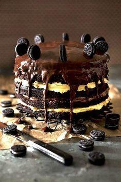 wow, choclate cakes! #oreo cake!