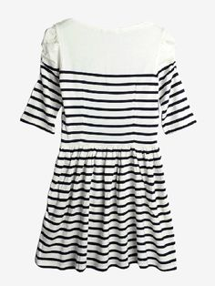 Navy Style Striped Sweater Dress | Choies