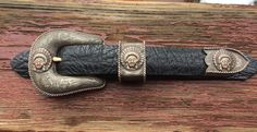 Western Belt Buckles, Western Belts, Gold Accents, Ranger, Rustic, Sterling Silver, Leather, Accessories, Jewelry