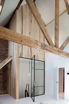 Exposed brick, exposed wooden beams. It's almost too good to be true.