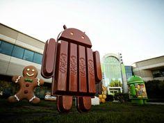 Más pistas del lanzamiento de #Android KitKat.