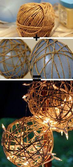 DIY: Szybkie, tanie i śliczne dekoracje do Twojego domu, które zrobisz sama