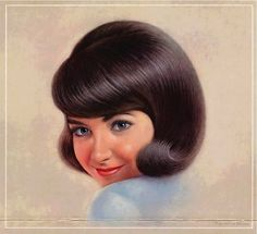 Most of today's images are from the second Breck girl illustrator, Ralph William Williams, who did the Breck girl portraits from 1957 until . Vintage Advertisements, Vintage Ads, Vintage Posters, Vintage Hairstyles, Cool Hairstyles, Breck Shampoo, Old Fashioned Hairstyles, Today Images, Good Hair Day