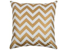 Rizzy Home Gold Pillow Cover