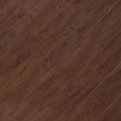 Moritz Walnut Wood Plank Porcelain Tile - 6in. x 24in. - 100027614 | Floor and Decor
