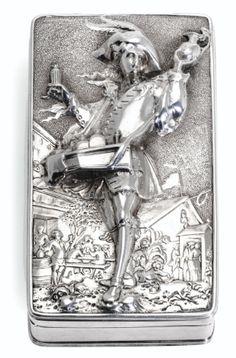 tabatière en argent par john linn | box | sotheby's pf1411lot7rglfen