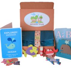 Have a child 2-4 years of age? Give them an Adventure Trunk Monthly Subscription Box and they'll receive a monthly box of fun and educational, teacher-approved activities every month! Learn more about Adventure Trunk at Find Subscription Boxes - http://www.findsubscriptionboxes.com/box/adventure-trunk/