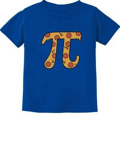 1f94b9f27 Baby Boy Clothing Collection · Tstars Pizza PI Funny PI Day Gift Cute Toddler  Kids TShirt 5/6 Blue *