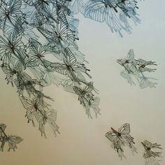 Stainless steel butterflies by Soon Liew