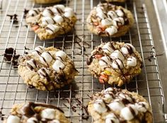Get the kids in the kitchen and bake up a batch of butter cookies with peanut butter candies, marshmallows and chocolate drizzle. Source: BettyCrocker.com