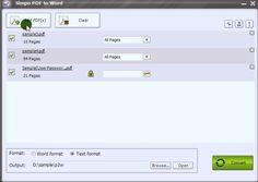 Step1, add PDF files