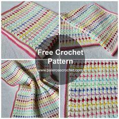 Nap Time Blankie By Pale Rose Crochet - Free Crochet Pattern - (palerosecrochet)