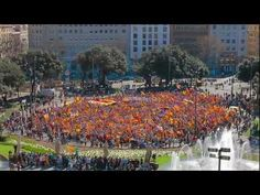 "Flashmob for the independence of Catalonia was recorded on the 18th of March 2012 at 12pm at the Plaça Catalunya, in Barcelona. 8.500 people filled the centre of the square with ""barretines"" and separatist flags in a flash action that lasted less than 5 minutes. The objective of this initiative is to promote through the network the needs of Catalonia to be independent to ensure its future as a nation. The peoples of all nations have the right to be free, it's their duty to exercise that…"