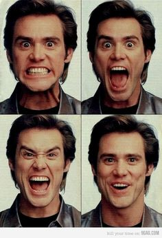 Jim Carrey - just turned 50 this year and proving that being crazy is perfectly OK...