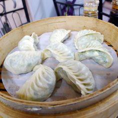 花素蒸餃讓人微笑。#Vegetarian #Dumplings makes U smile #food #Taiwan #Instagood