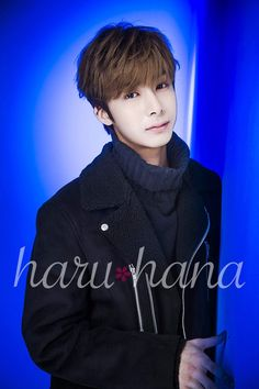 """MONSTA X Hyungwon for Haru Hana magazine Vol. 41 """
