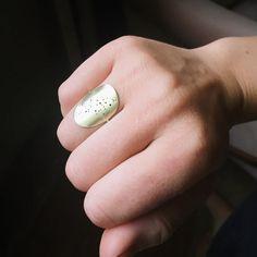 Bronze constellation saddle ring by LucksmithMetals on Etsy