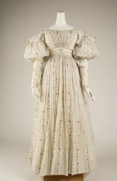 Morning Dress    1827    The Metropolitan Museum of Art