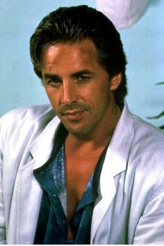 Don Johnson.  back in the day