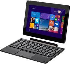 NextBook Tablet with Pogo Keyboard | KEY FEATURES 1GB DDR3L WIFI 802.11 b/g/n Bluetooth 4.0 Black 2.0 MP/0.3 MP Quad-Core 1.83 GHz Intel® ATOM™ Z3735G 32GB 6000MAH Windows 10 Micro HDMI
