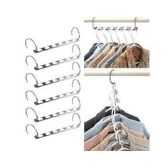 IPOW Wonder Magic Cascading Clothes Hangers Closet Organizers by Exquisite Product Marketing
