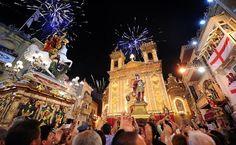 Malta Celebration  Photograph by Ted Attard