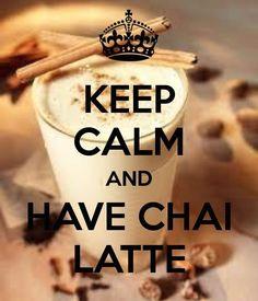 Chai latte ♥