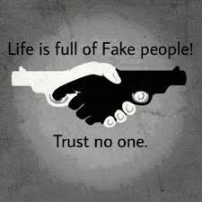 """""""Life is full of fake people. Trust no one! The I love the words AND the image. This could even be a pretty sweet tattoo! Trust No One Quotes, Fake People Quotes, Fake Friend Quotes, Trust Sayings, Fake Friends Quotes Images, Never Trust Anyone Quotes, Deep Quotes, Wisdom Quotes, Words Quotes"""