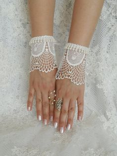 wedding glove ivory wedding glove bridal tea party by WEDDINGHome, $25.00