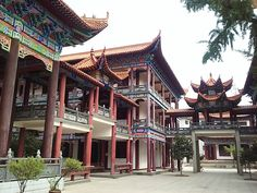 Buddhist Temple in Jingzhou, China