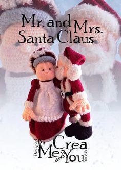 11 - Dhr. en Mevr. Santa Claus (Haakpatroon)