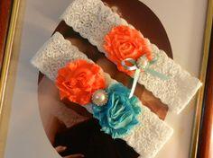 Wedding Garter Set Bridal Garter Set  Ivory Lace by THEFAIRYTHINGS, $22.00