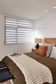 Luxaflex Pirouette Shadings, Bedroom - My Ideal House
