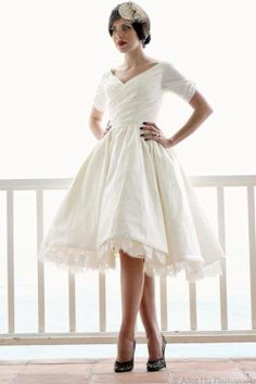 The bottom should be simpler, an inch shorter and less full, but otherwise perfect dress