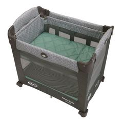 The Graco Travel Lite with States features a one-of-a-kind, height-adjustable bassinet with 2 levels so you can keep your baby comfortably close to you as he or she grows. Easily converts to a portable playard and weighs less than 20 pounds. Pack N Play Bassinet, Baby Basinets, Big Baby, Baby Pack And Play, To Go, Baby Necessities, Baby Essentials, Bedroom Images, Playpen