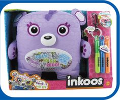 Inkoos.  A stuffed toy that a kid is supposed too doodle on? Heaven.