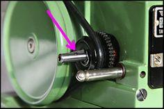 Detail picture of Elna Grasshopper drive shaft