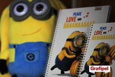 ANANAAAA! A linha dos Minions chegou! São cadernos, agendas, mochilas, lápis e muito mais. Garanta o seu material e volte às aulas com tudo! #materialescolar #voltaasaulas #paramenino #paramenina #minion #nagrafipel