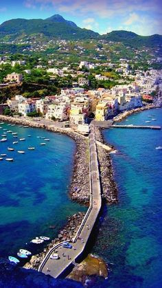 Ischia ponte, Campania, Italy | Flickr - Photo by silver67