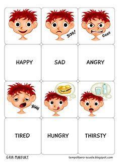 tempo libero: Memory english: adjectives - learning GO English Primary School, Learning English For Kids, English Lessons For Kids, Kids English, English Classroom, English Language Learning, Classroom Language, Teaching English, English Adjectives
