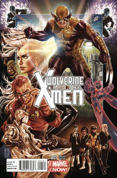 Wolverine and the X-Men Vol. 2 # 1 (Variant) by Mark Brooks
