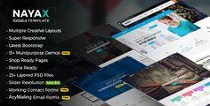 Nayax - Multipurpose Creative & Modern VirtueMart Joomla Template