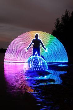 Fotografia com Light Painting para Inspiração
