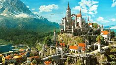 The Witcher 3: Blood and Wine--my husband is playing this and the scenery is absolutely gorgeous.  I want to vacation in a video game.